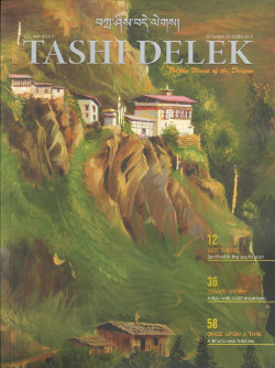 Tashi Delek in-flight magazine