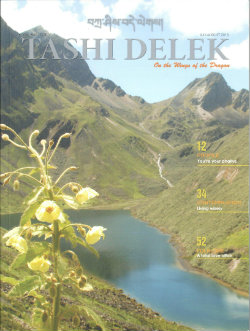 Tashi Delek magazine July August 2013